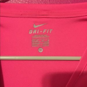 Nike Tops - Nike hot pink long sleeve shirt